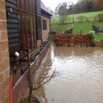 Temp Flood Barrier in Shropshire 4