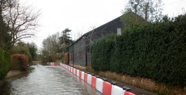 Flood Defences in Aberdesach